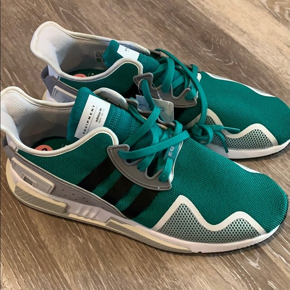 great fit 9c194 91a1d adidas EQT Cushion ADV Men Sneakers size 12 green